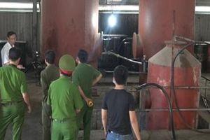 Triệt phá đường dây sản xuất, buôn bán dầu giả liên tỉnh