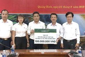 HABECO hỗ trợ 200 triệu đồng tới trẻ em vùng bị thiệt hại do mưa lũ tại Quảng Bình và Quảng Trị