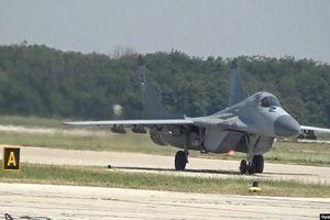 Chiến đấu cơ MiG-29 của Slovakia bị rơi trong khi bay huấn luyện