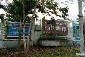Một Phó trưởng Ban Dân vận Huyện ủy ở Bạc Liêu bị cách chức