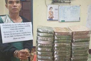 Bắt 2 đối tượng vận chuyển 32 bánh heroin tại biên giới Việt - Lào