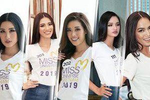 Khánh Vân - Anh Thư - Kim Duyên - Hoàng Phương lọt Top 60 Miss Universe Vietnam 2019
