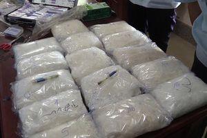 Khởi tố vụ vận chuyển 16kg ma túy bằng xe khách qua cửa khẩu Hoa Lư