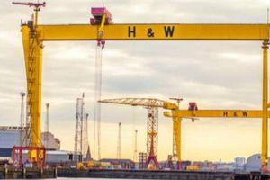Nhà máy đóng tàu Titanic được 'giải cứu' khỏi bờ vực phá sản