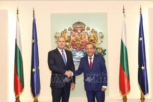 Tổng thống Rumen Radev: Việt Nam là đối tác quan trọng của Bulgaria ở Đông Nam Á