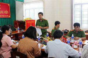 Giám sát công tác thi hành án treo và cải tạo không giam giữ tại Định Quán