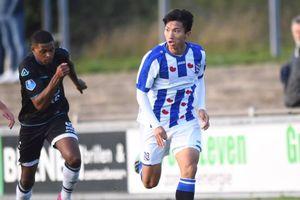 Đoàn Văn Hậu lần đầu chơi trọn vẹn 90 phút cho SC Heerenveen