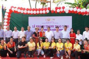 Tổ chức Bwon trao 2 điểm trường mầm non tại xã vùng cao khó khăn của tỉnh Sơn La