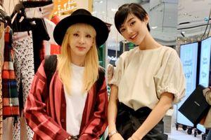 Cô em Trendy chụp ảnh với Dara 2NE1, khoe vào top sao mặc đẹp tại Pháp