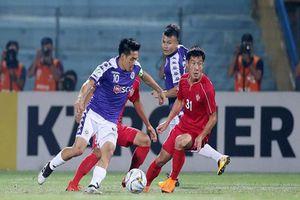 Bị cầm hòa, CLB Hà Nội FC dừng chân tại chung kết liên khu vực AFC