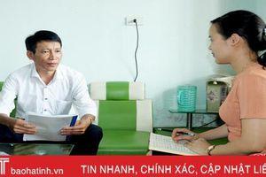 'Đảng viên 76' tâm huyết, trách nhiệm trong xây dựng đô thị văn minh ở thị trấn Thạch Hà