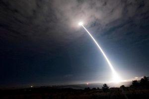 Mỹ thử tên lửa đạn đạo Minuteman III đầy uy lực