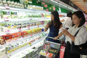 Sản phẩm sữa rộng đường sang Trung Quốc