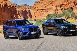 SUV hiệu năng cao BMW X5 M và X6 M 2020 ra mắt