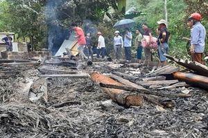 Căn nhà bị 'bà hỏa' hỏi thăm khi gia chủ đi vắng