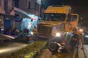 TP HCM: Khởi tố tài xế container tông chết người trong cơn 'phê' ma túy