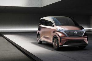 Hé lộ mẫu xe điện nhỏ gọn mới của Nissan trước Tokyo Motor Show
