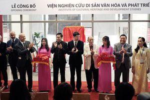 Trường ĐH Văn Lang thành lập Viện Nghiên cứu di sản văn hóa và Phát triển