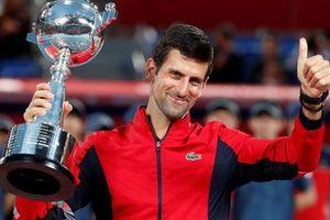 Djokovic, Federer cạnh tranh ngôi vương Shanghai Masters 2019