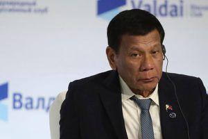 Tổng thống Philippines thừa nhận bị mắc chứng bệnh không thể chữa