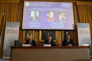 Công bố chủ nhân Giải Nobel Vật lý năm 2019