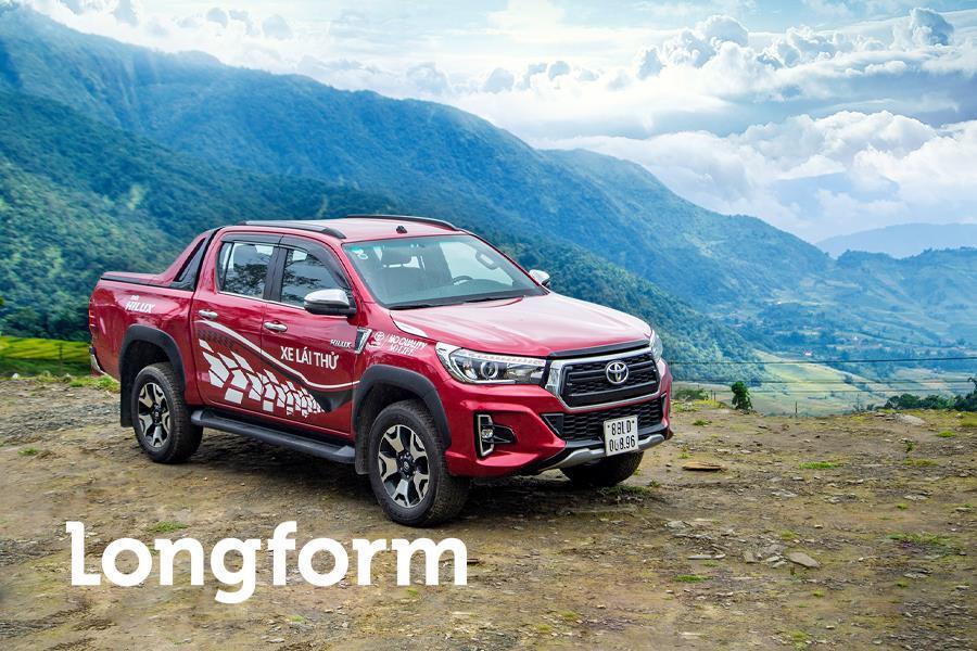 Toyota Hilux - sự tổng hòa đầy quyến rũ