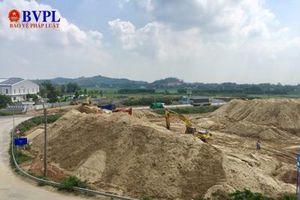 'Núi cát' mọc bên quốc lộ 1A: UBND TP Quảng Ngãi đang rà soát kiểm tra để xử lý