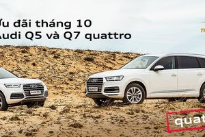 Ưu đãi tháng 10 dành cho Audi Q5 và Q7 quattro chào đón VMS 2019