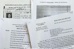 Quy trình xác minh lý lịch đảng nữ trưởng phòng mạo danh ở Đắk Lắk