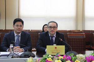 Thứ trưởng Bộ TT&TT Phan Tâm tiếp đoàn Hội đồng kinh doanh EU- ASEAN