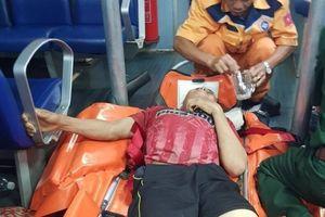 Cứu nạn khẩn cấp thuyền viên đứt lìa hai chân trên vùng biển Trường Sa