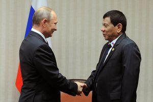 Philippines đánh tiếng với Nga để kiềm chế Trung Quốc ở Biển Đông