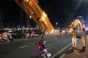Đà Nẵng: Va chạm kinh hoàng trên cầu Rồng, nam thanh niên tử vong tại chỗ