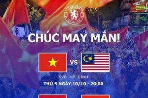 Ngỡ ngàng khi Fanpage của CLB Chelsea gửi lời chúc đến đội tuyển Việt Nam