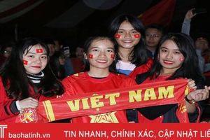 Người hâm mộ Hà Tĩnh mong chờ màn so tài Việt Nam vs Malaysia
