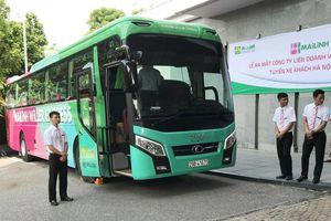 Ra mắt xe khách tuyến Hà Nội - Thanh Hóa theo chuẩn dịch vụ Nhật Bản