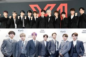 X1 đạt 'Bạch kim đôi' với doanh thu cao, BTS và TWICE nhận 'Bạch kim' trên Gaon