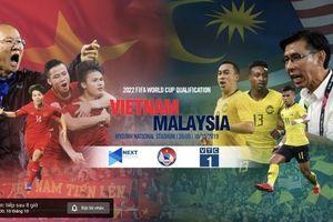 Cách xem trực tiếp trận đấu giữa Việt Nam và Malaysia