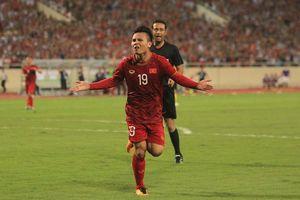 Việt Nam 1-0 Malaysia: Quang Hải tỏa sáng, Việt Nam thắng sít sao Malaysia