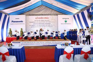 Panasonic đầu tư hơn 45 triệu USD xây dựng nhà máy mới