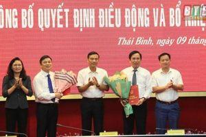 Nhân sự mới tại Thái Bình, Hà Nội