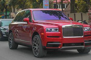 Đại gia Hà Nội độ SUV siêu sang Rolls-Royce Cullinan hơn 40 tỷ