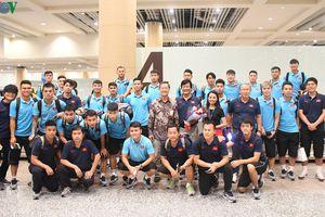 ĐT Việt Nam được chào đón nồng nhiệt khi đặt chân đến Indonesia