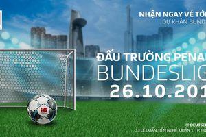 Cuộc thi đá penalty Bundesliga đầu tiên tại Việt Nam