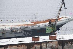 Nga đã quyết định số phận tàu Kuznetsov?