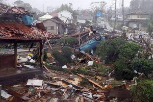Nhật Bản tan hoang sau siêu bão Hagibis