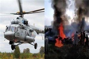 Tên lửa Spyder Ấn Độ bắn nhầm trực thăng Mi-17 khiến 6 người chết oan