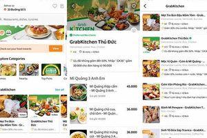 GrabKitchen: Ngồi một chỗ, ăn nhiều món ngon của nhiều quán khác nhau