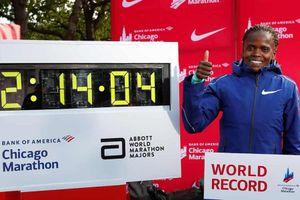 Chân chạy người Kenya phá kỷ lục thế giới marathon tồn tại 16 năm