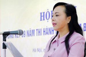 Bà Nguyễn Thị Kim Tiến sắp thôi chức Bộ trưởng Bộ Y tế